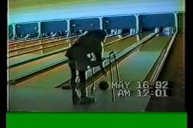 Complete paraplegic using PARASTEP electrical stimulation - basketball & bowling